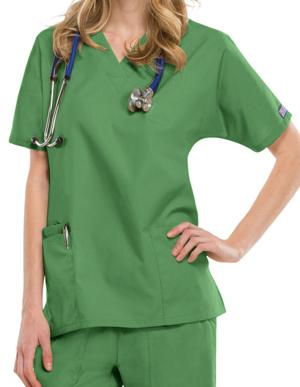 Picture of CHEROKEE-CH-4700-Cherokee Workwear Women's Two Patch Pockets Nurse Scrub Top