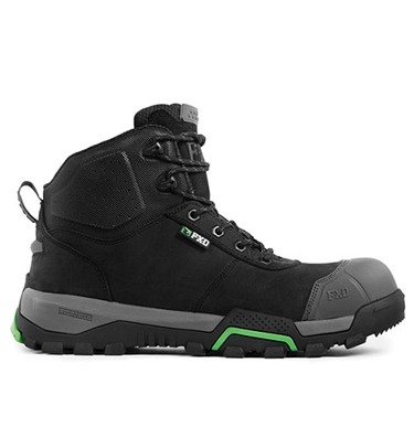 Picture of FXD Safety Boots-WB-2(Black)-WB-2 4.5 BLACK