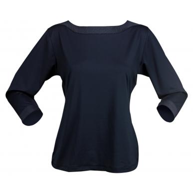 Picture of Stencil Uniforms-1259Q- Ladies 3/4S ARGENT POLO