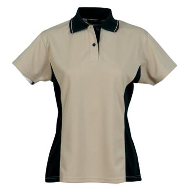 Picture of Stencil Uniforms-1032- Ladies S/S ACTIVE POLO