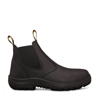 Picture of Oliver Boots-34-620-BLACK ELASTIC SIDED BOOT