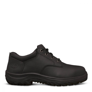 Picture of Oliver Boots-34-652-BLACK LACE UP DERBY SHOE