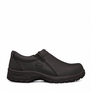 Picture of Oliver Boots-49-430-Women's Black Slip On Shoe