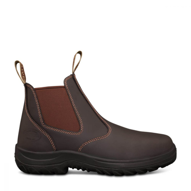 Picture of Oliver Boots-26-626-CLARET ELASTIC SIDED BOOT
