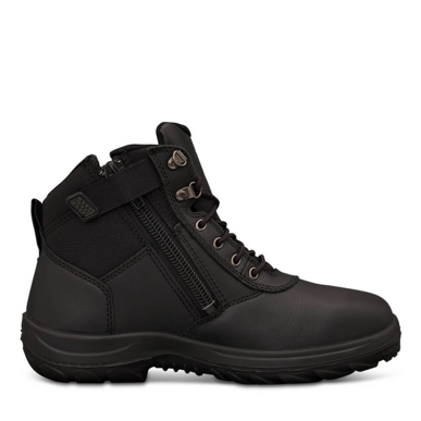 Picture of Oliver Boots-26-660-140MM BLACK ZIP SIDED BOOT