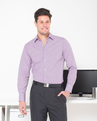 Picture of LSJ collection-2010L-LO-Mens Long sleeve classic fit business shirt