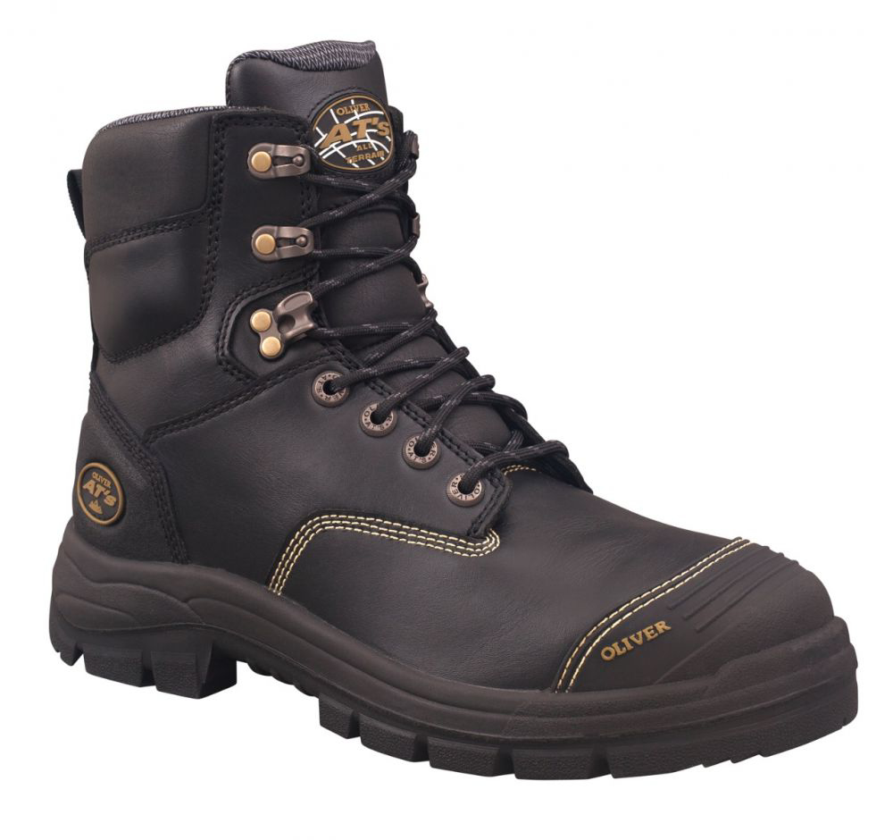 Oliver AT-55 Zip Sided 150mm Boot - Access Workwear & Safety