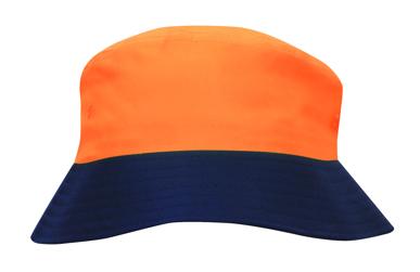 Picture of Headwear Stockist-3929-Luminescent Safety Bucket Hat