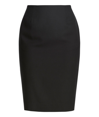 Picture of NNT Uniforms-CAT2NF-BLK-Panel Pencil Skirt