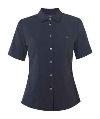 Picture of NNT Uniforms-CATU2U-NAV-Short Sleeve Action Back Shirt