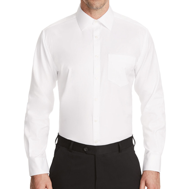 Picture of NNT Uniforms-CATJ4B-WHT-Long Sleeve Shirt