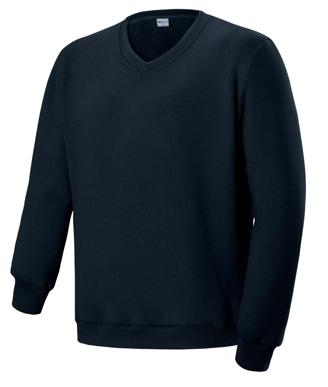 Picture of Bocini-CJ1617-Unisex Adults V Neck Fleece Jumper